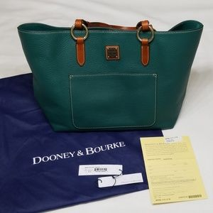 Dooney & Bourke Tammy Tote in Leaf Green